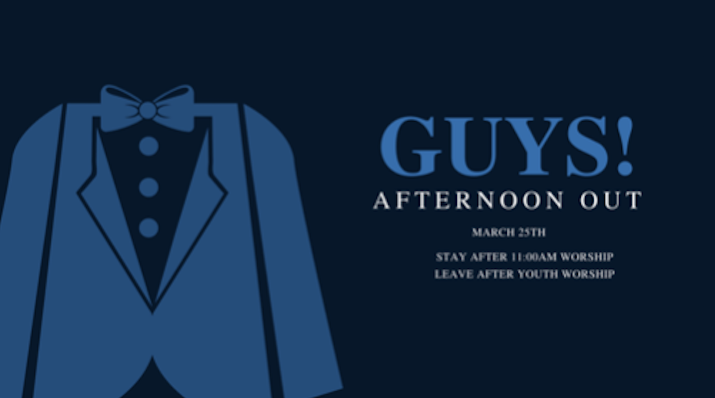 Guys Afternoon Out