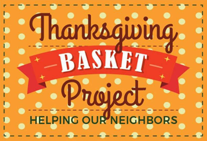 Thanksgiving Basket Project